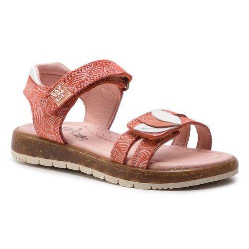 Sandały GARVALIN - 192633 B-Coral Y Hojas, kolor czerwony