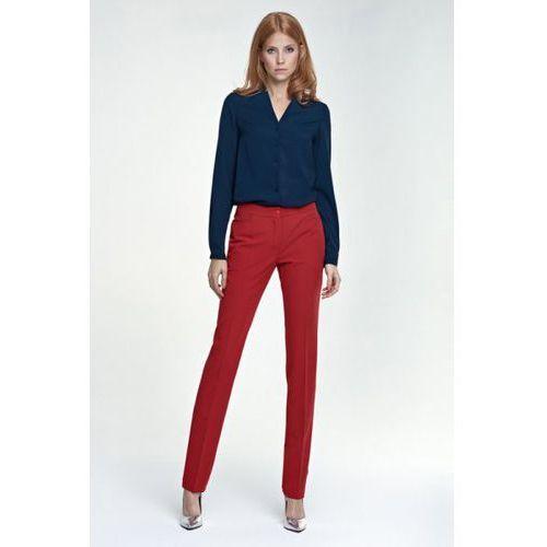Eleganckie spodnie SD25 czerwony