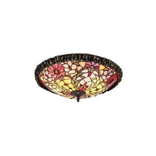 Plafon lampa sufitowa Rabalux Mirella 2x60W E27 brąz 8087, 8087