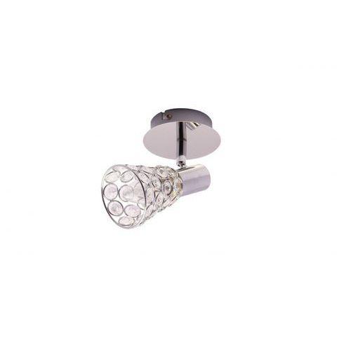 Kinkiet lampa ścienna Krislamp Rosa 1X40W E14 chrom KR119/1W