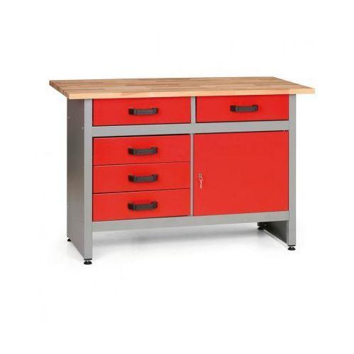 Mars Stół roboczy z szufladami i szafką