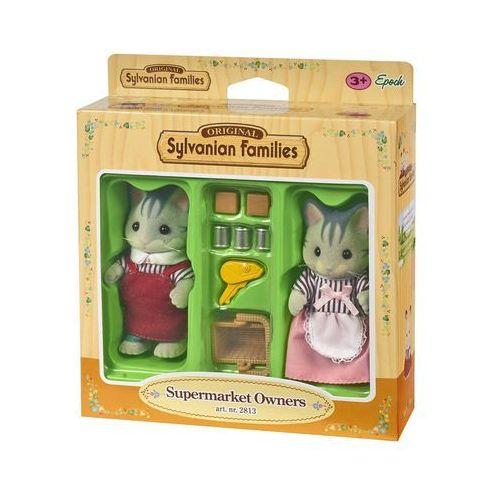 Sylvanian Families, właściciele supermarketu, zestaw figurek, 2813 z kategorii Pozostałe lalki i akcesoria