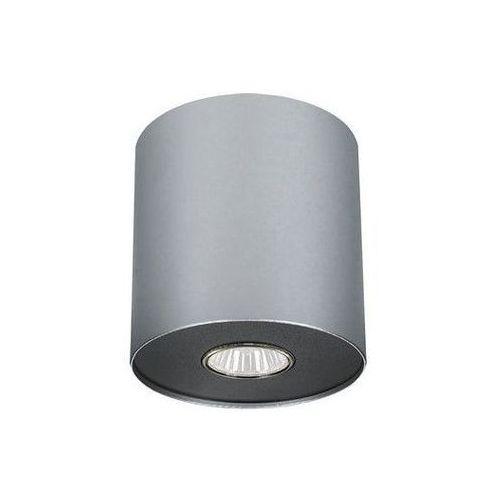 Nowodvorski Point oprawa natynkowa m 1xgu10 srebrny 6004 - biały ||srebrny (5903139600491)