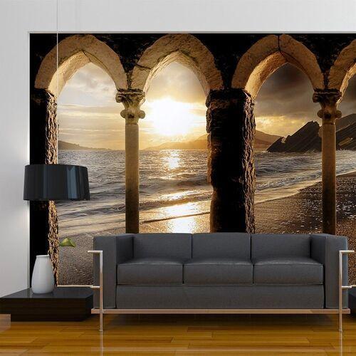 Fototapeta - zamek na plaży marki Artgeist