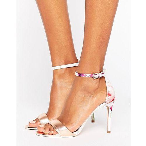 charv sketchbook barely there heeled sandals - multi marki Ted baker