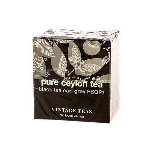 pure ceylon tea - black tea earl grey fbop1 70g marki Vintage teas