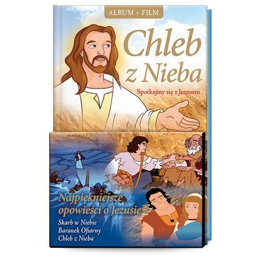 Śnieżkowska-bielak elżbieta Chleb z nieba. spotkajmy się z jezusem + film dvd