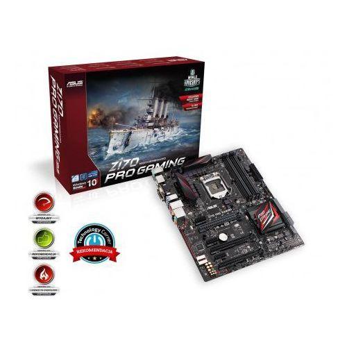 Asus Z170 PRO GAMING, Z170, QuadDDR4-2133, SATA3, HDMI, DVI, DP, USB