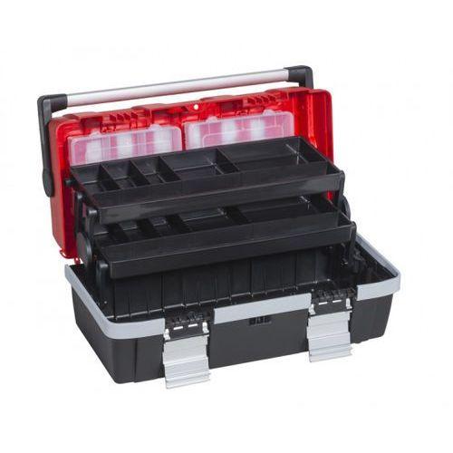 Allit Plastikowa walizka z wysuwanymi półkami mcplus alu c 18 (4005187570113)