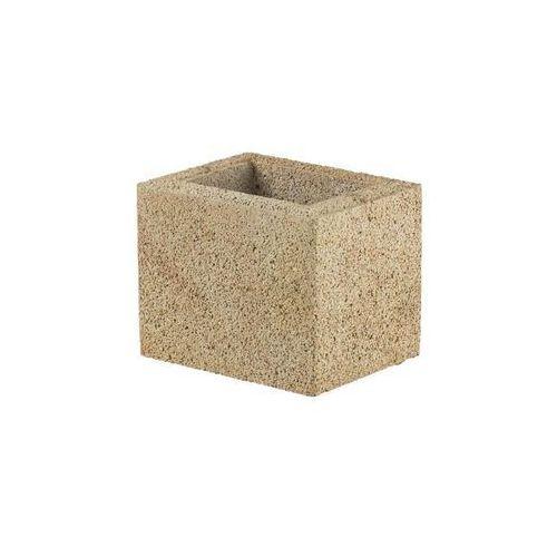 Joniec Bloczek słupkowy 25.2 x 20 x 20 cm betonowy beskid