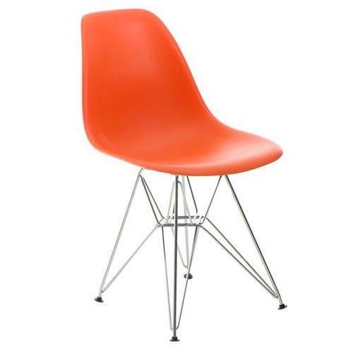 D2.design Krzesło p016 pp inspirowane dsr - pomarańczowy (5902385711555)