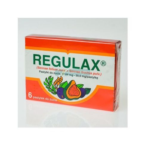 Pastylki Regulax pastyl. 6 szt.