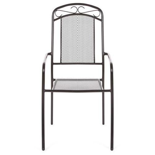 Krzesło ogrodowe metalowe bolonia marki Home & garden