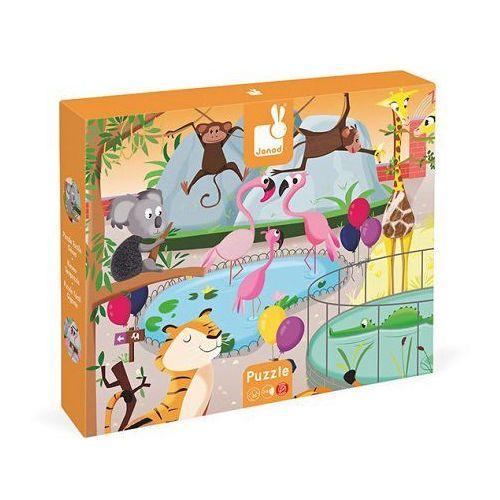 Janod - puzzle sensoryczne 20 elementów wycieczka do zoo