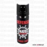 Gaz pieprzowy Defence Nato Gel 50ml - dysza CONE