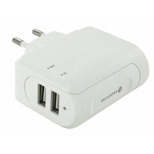 Holdit Smartline ładowarka sieciowa 3,4A USB biała DARMOWA DOSTAWA DO 400 SALONÓW !! (ładowarka do telefonu)