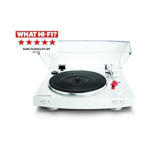 Gramofon AUDIO-TECHNICA LP3 Biały (4961310137977)