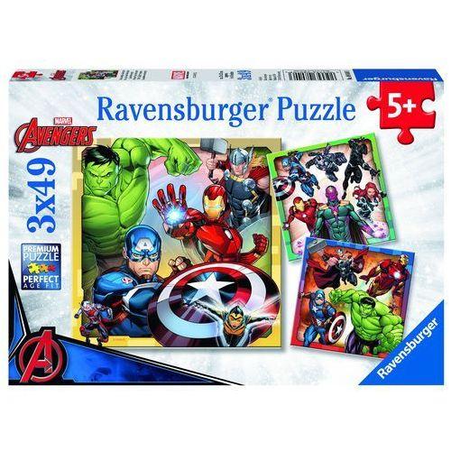 Ravensburger disney puzzle marvel avengers 3x49 elementów (4005556080403)