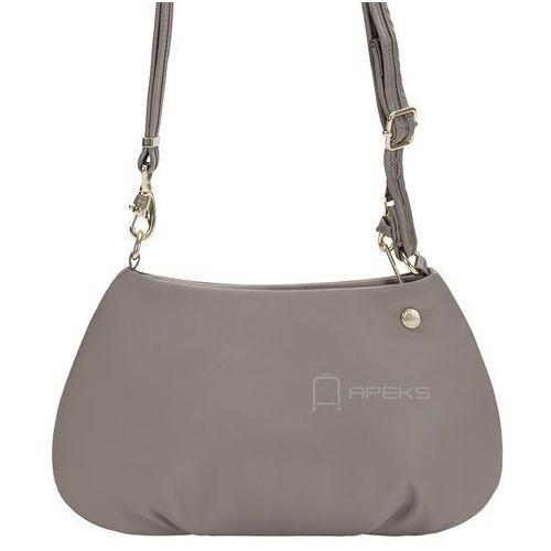 Pacsafe citysafe cx crossbody torebka damska antykradzieżowa na ramię / beżowa - blush tan