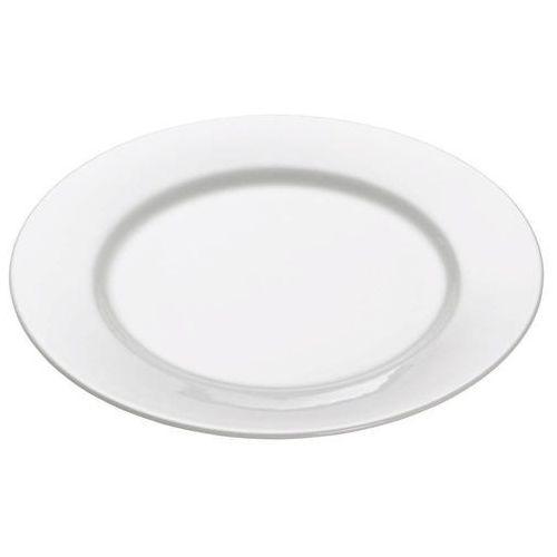 - basics round - talerz deserowy z rantem, 19,00 cm marki Maxwell & williams