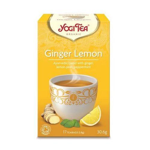 Herbata Imbirowo - Cytrynowa BIO (Yogi Tea) 17 saszetek po 1,8g