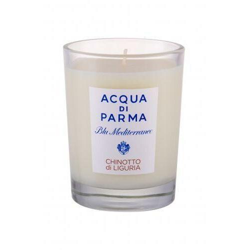 blu mediterraneo chinotto di liguria świeczka zapachowa 200 g unisex marki Acqua di parma