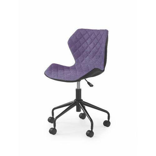 Swage fotel młodzieżowy fioletowo-czarny marki Style furniture
