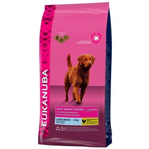 Eukanuba Adult Weight Control Large Breed, kurczak - 15 kg| -5% Rabat dla nowych klientów| Dostawa GRATIS + promocje, EUKANUBA Adult Weight Control Large Breed 15kg