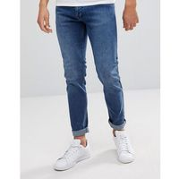clark worn ash blue slim jeans - blue, Dr denim