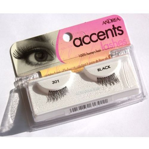 Ardell Andrea accent lashes 301 black