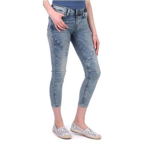 Mustang jeansy damskie jasmin button 31/30 niebieski