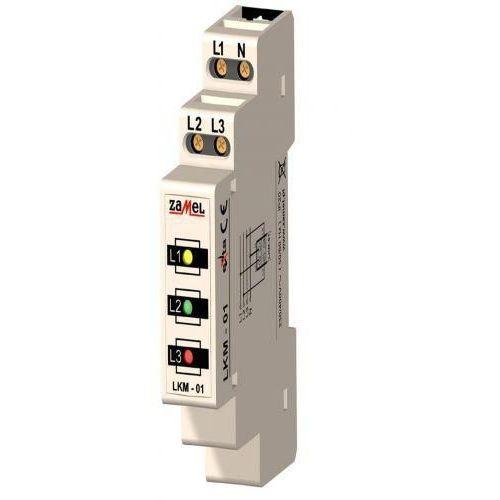 Wskaźnik zasilania 1 - MOD. 3 LED ZAMEL (5903669021681)