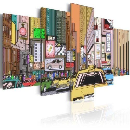 Obraz - Rysunek miasta