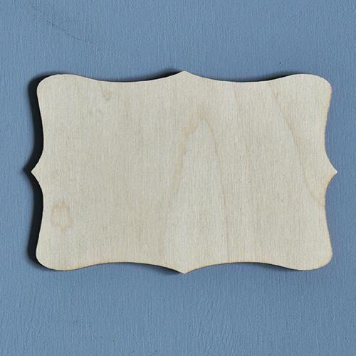 Drewniana tabliczka do decoupage 15x10 cm - 02