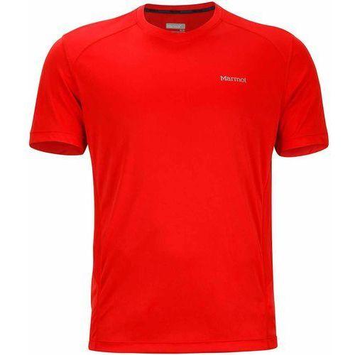 Marmot koszulka sportowa Windridge SS Scarlet Red XL, kolor czerwony