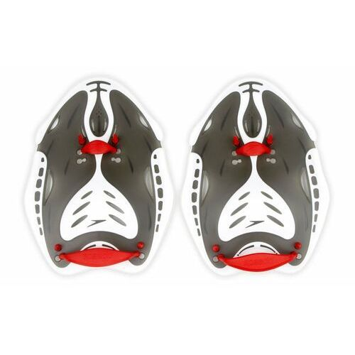Speedo Wiosełka  na dłonie biofuse power paddle czerwono-szare (5051746550071)