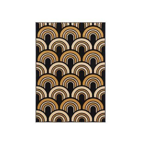 Agnella Dywan floorst granatowo-złoty 133 x 190 cm