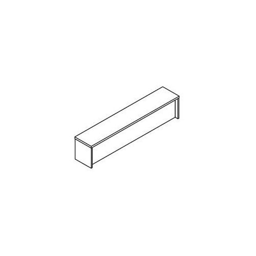 Nadstawka lady prostej LH76bg wymiary: 160x30x35,2 cm