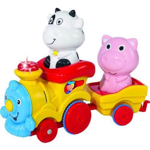 abc pociąg ze zwierzątkami 1+, marki Simba