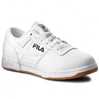 Sneakersy FILA - Original Fitness 1VF80172.150 White/Fila Navy/Fila Red, w 3 rozmiarach
