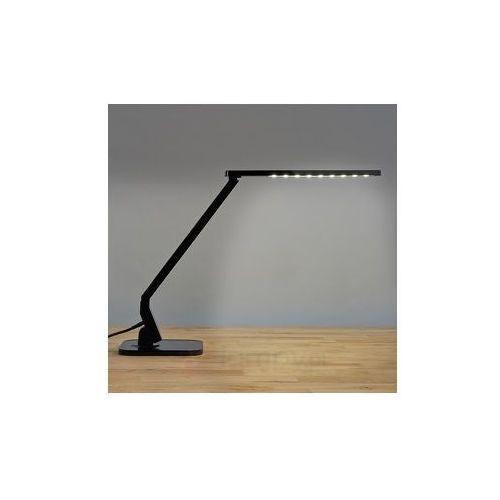 Czarna lampka na biurko led eleni, marki Lampenwelt