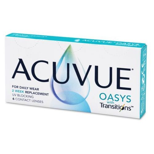 Acuvue oasys with transitions (6 soczewek) marki Johnson & johnson