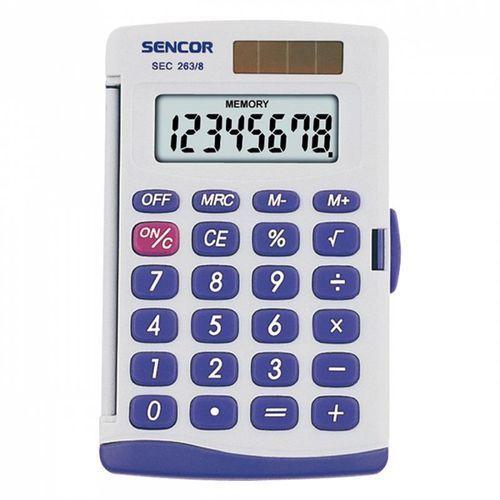 Kalkulator Sencor kieszonkowy (SEC 263/ 8) Darmowy odbiór w 21 miastach!, SEC 263/ 8