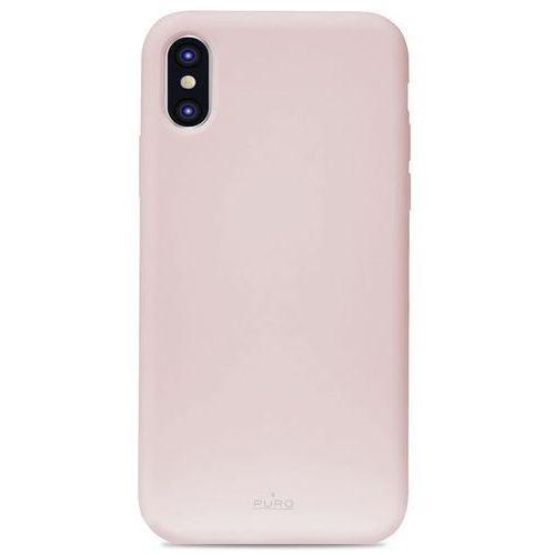 icon cover etui obudowa iphone xr (różowy) limited edition marki Puro