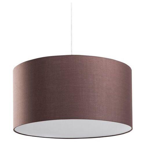 Lampa sufitowa wisząca - żyrandol brązowy - oświetlenie - ELBE
