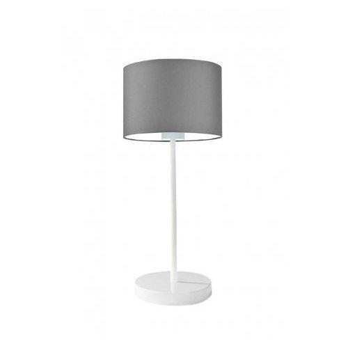 Lampka stołowa NICEA na stolik nocny szary (stalowy), stal szczotkowana (+35 zł)