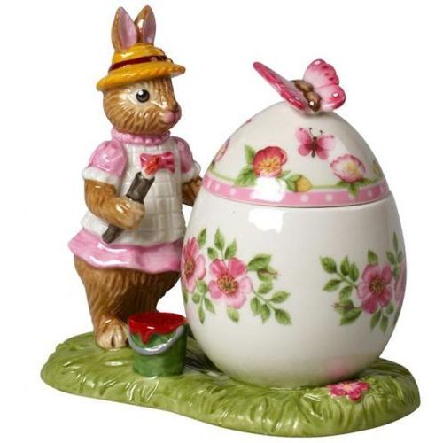 "Villeroy & boch - bunny tales figurka/pudełeczko porcelanowe ""króliczek anna"""