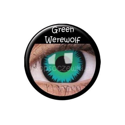 wild eyes – green werewolf - 2 sztuki, marki Crazy