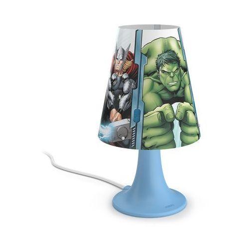 Philips 71795/36/16 - Lampa stołowa dla dzieci AVENGERS LED/2,3W/230V (8718696130407)