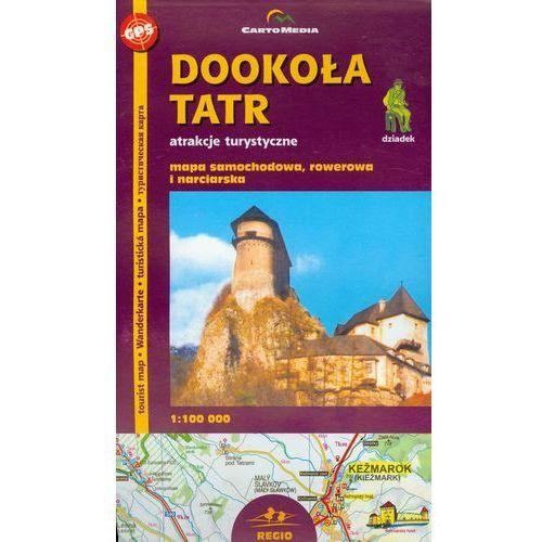 Dookoła Tatr mapa 1:100 000 Sygnatura, oprawa broszurowa